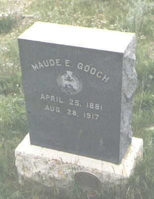 GOOCH, MAUDE E. - San Juan County, Colorado | MAUDE E. GOOCH - Colorado Gravestone Photos