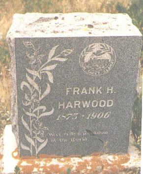 HARWOOD, FRANK H. - San Juan County, Colorado | FRANK H. HARWOOD - Colorado Gravestone Photos