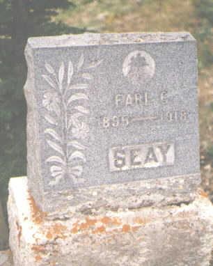SEAY, EARL C. - San Juan County, Colorado | EARL C. SEAY - Colorado Gravestone Photos