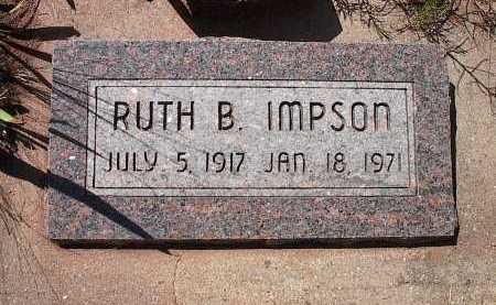 IMPSON, RUTH B. (BEATRICE) - San Miguel County, Colorado | RUTH B. (BEATRICE) IMPSON - Colorado Gravestone Photos