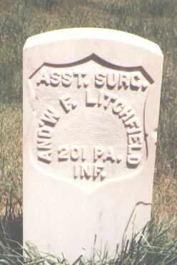 LITCHFIELD, AND'W F. - San Miguel County, Colorado | AND'W F. LITCHFIELD - Colorado Gravestone Photos