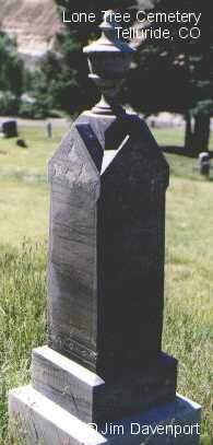 MIDWINTER, SARAH J. - San Miguel County, Colorado | SARAH J. MIDWINTER - Colorado Gravestone Photos