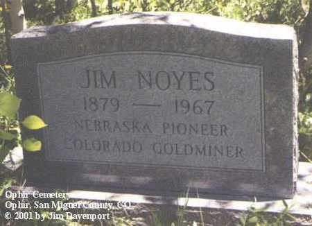 NOYES, JIM - San Miguel County, Colorado | JIM NOYES - Colorado Gravestone Photos