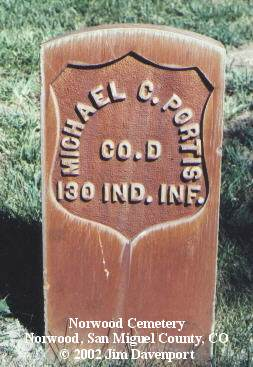 PORTIS, MICHAEL C. - San Miguel County, Colorado | MICHAEL C. PORTIS - Colorado Gravestone Photos