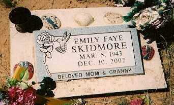 SKIDMORE, EMILY FAYE - San Miguel County, Colorado | EMILY FAYE SKIDMORE - Colorado Gravestone Photos