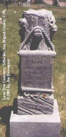 SMITH, MICHAEL - San Miguel County, Colorado | MICHAEL SMITH - Colorado Gravestone Photos