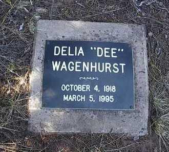 WAGENHURST, DELLA FLORENCE (DEE) - San Miguel County, Colorado   DELLA FLORENCE (DEE) WAGENHURST - Colorado Gravestone Photos