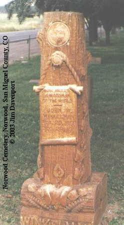 WINKELMAN, JOHN W. - San Miguel County, Colorado | JOHN W. WINKELMAN - Colorado Gravestone Photos
