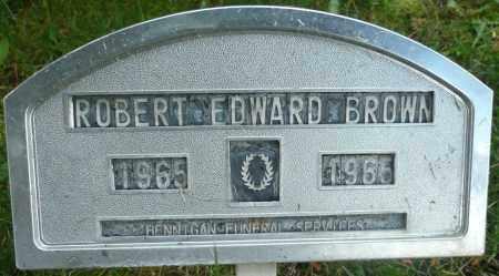 BROWN, ROBERT EDWARD - Summit County, Colorado   ROBERT EDWARD BROWN - Colorado Gravestone Photos