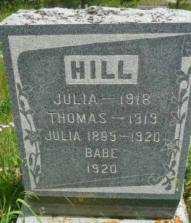 HILL, JULIA - Summit County, Colorado | JULIA HILL - Colorado Gravestone Photos