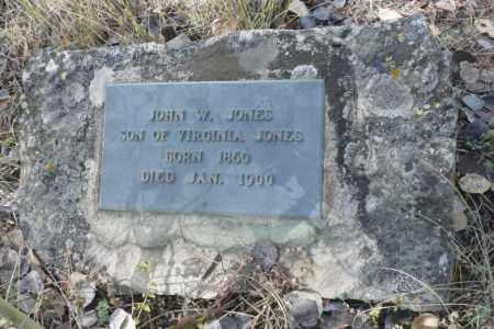 JONES, JOHN W. - Summit County, Colorado | JOHN W. JONES - Colorado Gravestone Photos