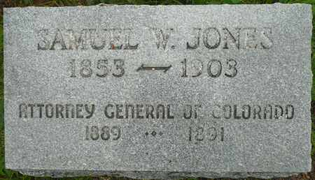 JONES, SAMUEL W. - Summit County, Colorado | SAMUEL W. JONES - Colorado Gravestone Photos