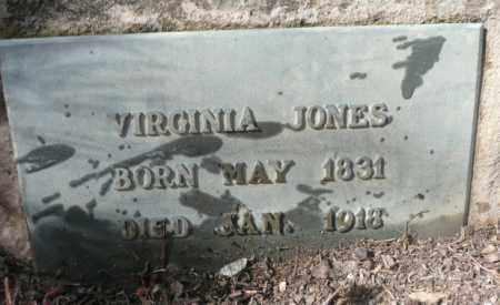 JONES, VIRGINIA - Summit County, Colorado | VIRGINIA JONES - Colorado Gravestone Photos
