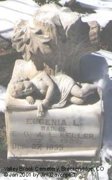 KELLER, EUGENIA - Summit County, Colorado | EUGENIA KELLER - Colorado Gravestone Photos