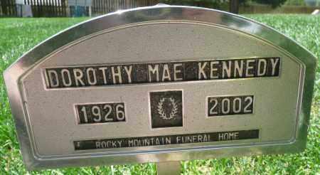 KENNEDY, DOROTHY MAE - Summit County, Colorado | DOROTHY MAE KENNEDY - Colorado Gravestone Photos