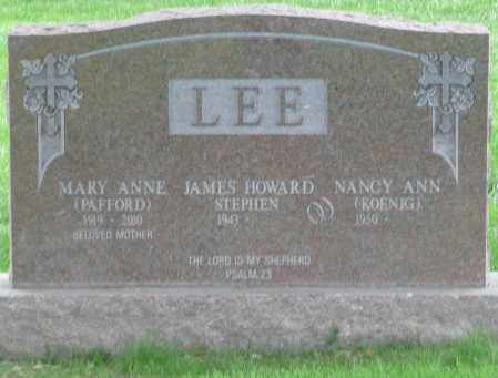PAFFORD LEE, MARY ANNE - Summit County, Colorado | MARY ANNE PAFFORD LEE - Colorado Gravestone Photos