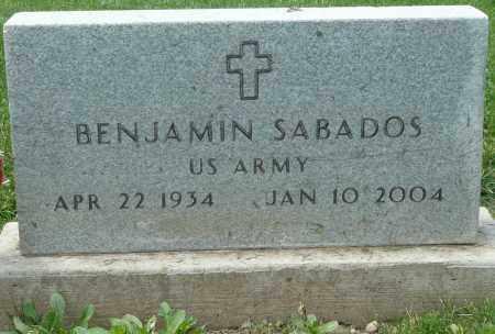 SABADOS, BENJAMIN - Summit County, Colorado   BENJAMIN SABADOS - Colorado Gravestone Photos