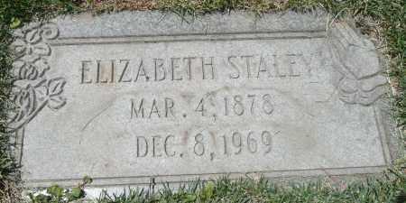 STALEY, ELIZABETH - Summit County, Colorado   ELIZABETH STALEY - Colorado Gravestone Photos
