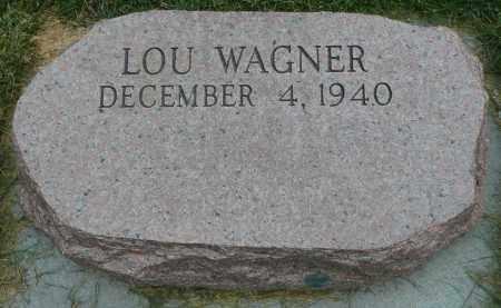 WAGNER, LOU - Summit County, Colorado   LOU WAGNER - Colorado Gravestone Photos