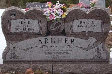 ARCHER, REX D - Teller County, Colorado | REX D ARCHER - Colorado Gravestone Photos