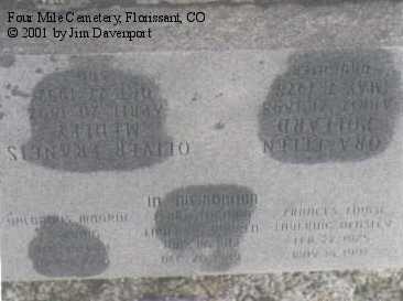 LAVERING BEASLEY, FRANCES LOUISE - Teller County, Colorado | FRANCES LOUISE LAVERING BEASLEY - Colorado Gravestone Photos