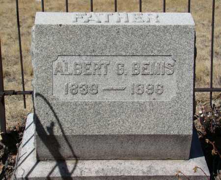 BEMIS, ALBERT G - Teller County, Colorado | ALBERT G BEMIS - Colorado Gravestone Photos