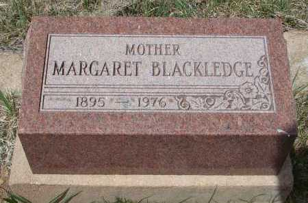BLACKLEDGE, MARGARET - Teller County, Colorado | MARGARET BLACKLEDGE - Colorado Gravestone Photos