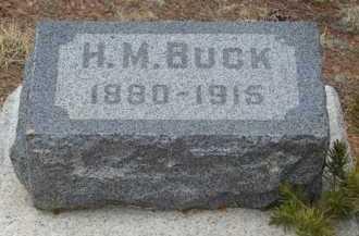 BUCK, H. M. - Teller County, Colorado | H. M. BUCK - Colorado Gravestone Photos