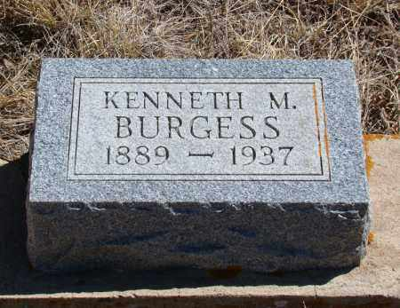 BURGESS, KENNETH M - Teller County, Colorado | KENNETH M BURGESS - Colorado Gravestone Photos