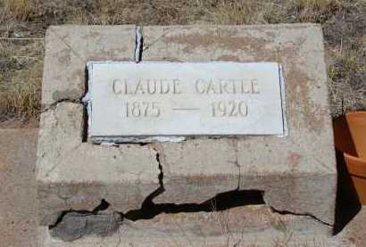 CARTEE, CLAUDE - Teller County, Colorado | CLAUDE CARTEE - Colorado Gravestone Photos
