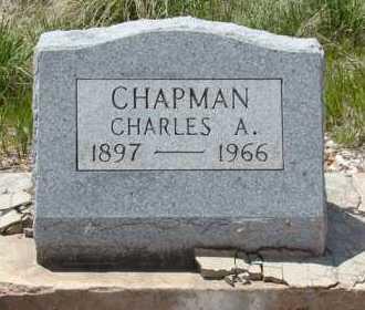 CHAPMAN, CHARLES A - Teller County, Colorado   CHARLES A CHAPMAN - Colorado Gravestone Photos