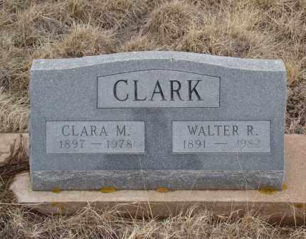CLARK, WALTER R - Teller County, Colorado | WALTER R CLARK - Colorado Gravestone Photos