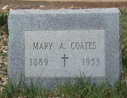 COATES, MARY A - Teller County, Colorado | MARY A COATES - Colorado Gravestone Photos