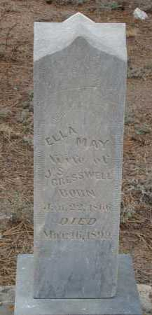 CRESSWELL, ELLA MAY - Teller County, Colorado | ELLA MAY CRESSWELL - Colorado Gravestone Photos