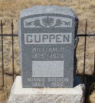 CUPPEN, MINNIE DODSON - Teller County, Colorado | MINNIE DODSON CUPPEN - Colorado Gravestone Photos