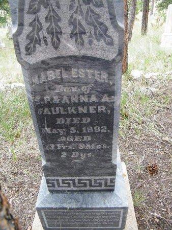 FAULKNER, MABEL ESTER - Teller County, Colorado | MABEL ESTER FAULKNER - Colorado Gravestone Photos