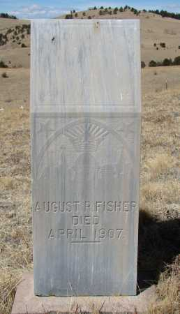 FISHER, AUGUST R - Teller County, Colorado | AUGUST R FISHER - Colorado Gravestone Photos