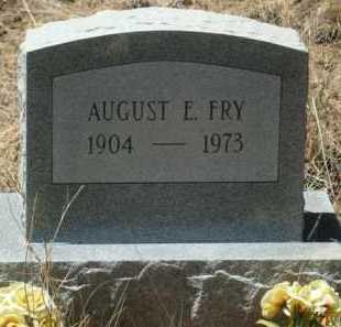 FRY, AUGUST E - Teller County, Colorado | AUGUST E FRY - Colorado Gravestone Photos