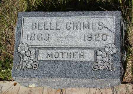 GRIMES, BELLE - Teller County, Colorado | BELLE GRIMES - Colorado Gravestone Photos