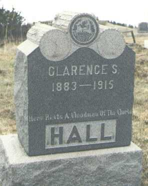 HALL, CLARENCE S. - Teller County, Colorado | CLARENCE S. HALL - Colorado Gravestone Photos