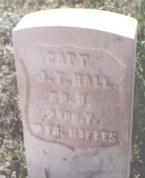 HALL, J. T. - Teller County, Colorado   J. T. HALL - Colorado Gravestone Photos
