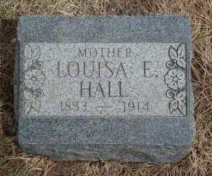 HALL, LOUISA E - Teller County, Colorado | LOUISA E HALL - Colorado Gravestone Photos