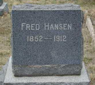 HANSEN, FRED - Teller County, Colorado   FRED HANSEN - Colorado Gravestone Photos