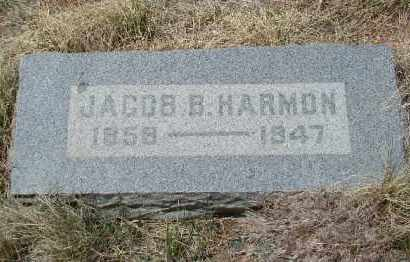 HARMON, JACOB B - Teller County, Colorado | JACOB B HARMON - Colorado Gravestone Photos
