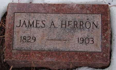 HERRON, JAMES A. - Teller County, Colorado | JAMES A. HERRON - Colorado Gravestone Photos