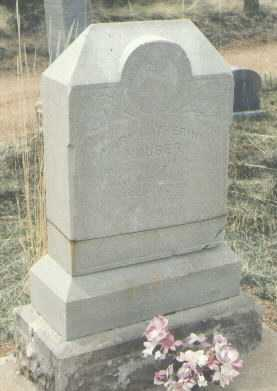 HOUSER, MARY CATHERINE - Teller County, Colorado   MARY CATHERINE HOUSER - Colorado Gravestone Photos