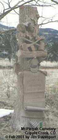 HUGGINS, CHARLES H. - Teller County, Colorado   CHARLES H. HUGGINS - Colorado Gravestone Photos