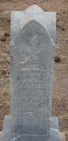 HUNTER, NANNIE M - Teller County, Colorado | NANNIE M HUNTER - Colorado Gravestone Photos