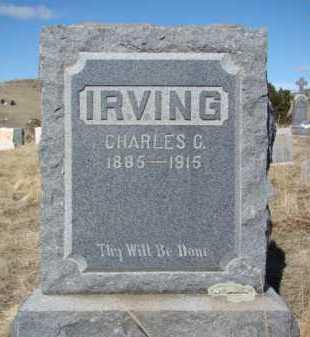 IRVING, CHARLES C. - Teller County, Colorado | CHARLES C. IRVING - Colorado Gravestone Photos