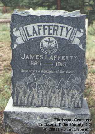 LAFFERTY, JAMES - Teller County, Colorado | JAMES LAFFERTY - Colorado Gravestone Photos